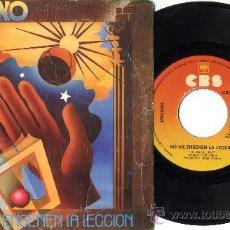 Discos de vinilo: MECANO NO ME ENSEÑEN LA LECCIÓN POP MOVIDA OCHENTAS SPAIN. Lote 26361361