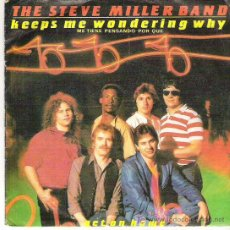 Discos de vinilo: THE STEVE MILLER BAND - KEEPS E WONDERING WHY *** MERCURY 1982. Lote 16371825
