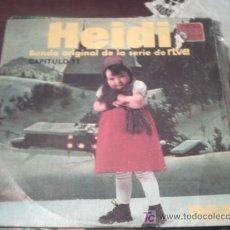 Discos de vinilo: MUSICA INFANTIL - HEIDI BSO RTVE - CAPITULO 11 + DIME ABUELITO SG RCA 1976/ PEPETO. Lote 16371998