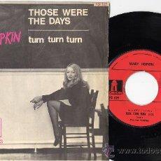 Discos de vinilo: MARY HOPKIN TURN TURN TURN ODEON FRANCE. Lote 26436471