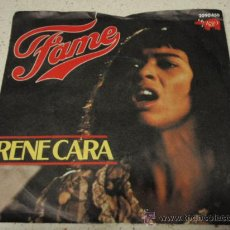 Disques de vinyle: IRENE CARA ( FAME ) CONTEMPORARY GOSPEL CHORUS THE HIGH SCHOOL OF MUSIC AND ART (NEVER ALONE). Lote 16390034