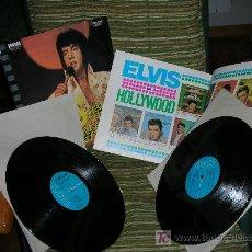 Discos de vinilo: ELVIS PRESLEY-ELVIS IN HOLLYWOOD-ORIGINAL U.S.A.1976-2LP´S CON LIBRETO DE FOTOGRAFIAS COMPLETO. Lote 26348860