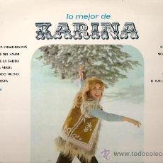 Discos de vinilo: KARINA LP SELLO HISPAVOX GAMMA EDITADO EN MEXICO . Lote 16393087