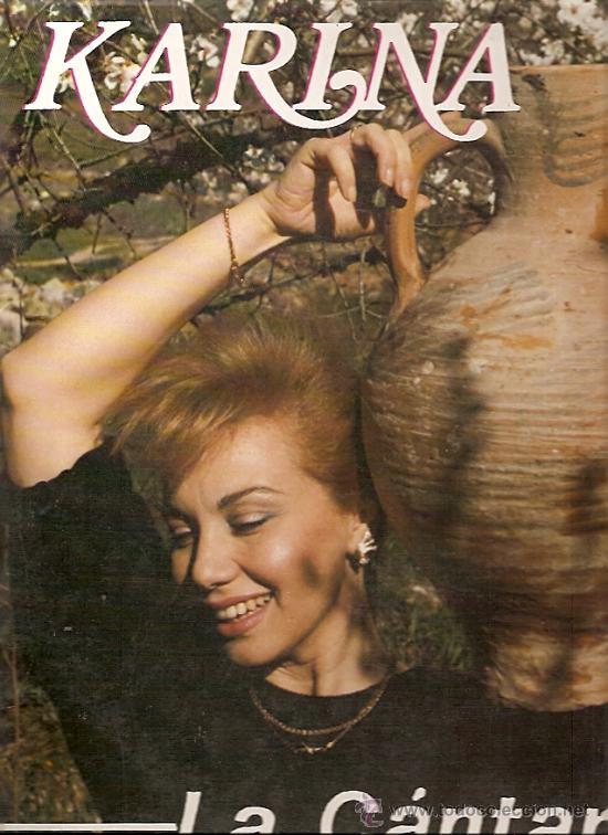 KARINA MAXI-SINGLE SELLO MARBELLA SOUND AÑO 1988 (Música - Discos de Vinilo - Maxi Singles - Solistas Españoles de los 50 y 60)