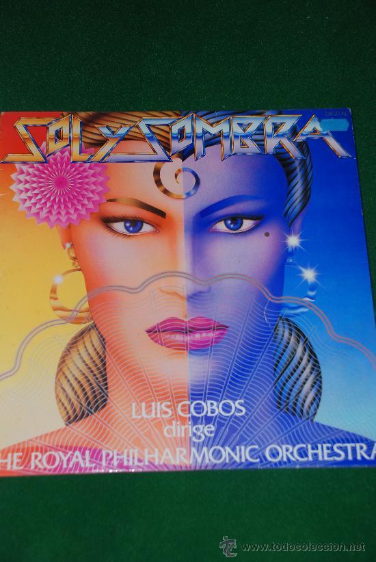 SOL Y SOMBRA. LUIS COBOS & THE ROYAL PHILARMONIC ORCHESTRA. (Música - Discos - LP Vinilo - Orquestas)
