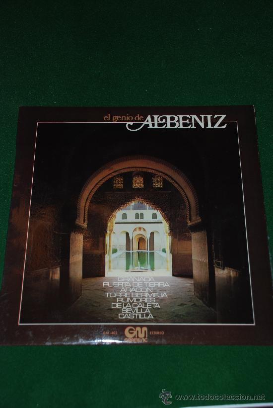 EL GENIO DE ALBENIZ. ORQUESTA LIRICA DE MADRID (Música - Discos - LP Vinilo - Orquestas)