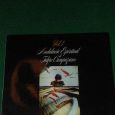 Discos de vinilo: ANDALUCIA ESPIRITUAL DE FELIPE CAMPUZANO. VOL I. CADIZ. Lote 27279496