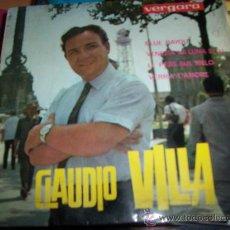 Discos de vinilo: CLAUDIO VILLA EP - BLUE BAYOU. Lote 24877914