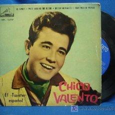 Discos de vinilo: - CHICO VALENTO - EL ELVIS DE ZARAGOZA - 4 CANCIONES - LA VOZ DE SU AMO - MUY DIFICIL DE CONSEGUIR. Lote 27024952