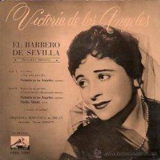 Discos de vinilo: VICTORIA DE LOS ANGELES EP SELLO LA VOZ DE SU AMO AÑO 1958. Lote 16426705