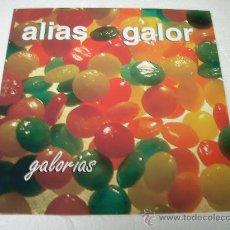 Discos de vinilo: LP ALIAS GALOR GALORIAS VINILO. Lote 50857498