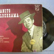 Discos de vinilo: SINGLE DE JUANITO VALDERRAMA, 4 CANCIONES, EL REY DE LA CARRETERA,... VER LA DESCRIPCIÓN, 1967. Lote 22783789