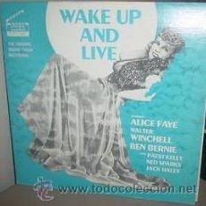 Discos de vinilo: WAKE UP AND LIVE BSO LP.... NUEVO, TODAVÍA PRECINTADO . Lote 26341567