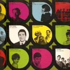 Discos de vinilo: LP 12 EXITOS: LOS 4 DE LA TORRE, JEZABEL CON THE FINDER´S , MINA, LOS 3 SUDAMERICANOS, THE BRISKS,. Lote 27571469