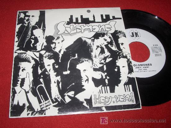 SOLOMONES ¡HEY,VEN! 7 SGL 1993 PROMO SOUL BAND GRUPO NACIONAL (Música - Discos - Singles Vinilo - Grupos Españoles de los 90 a la actualidad)