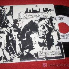 Discos de vinilo: SOLOMONES ¡HEY,VEN! 7 SGL 1993 PROMO SOUL BAND GRUPO NACIONAL. Lote 20155869