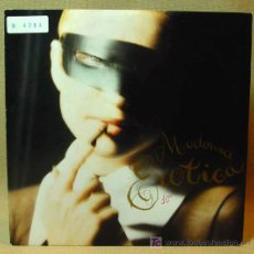 Discos de vinilo: SINGLE, EROTICA (ROADIO EDIT), MADONNA, SIRE, ALEMANIA, 1992, REFERENCIA: W0138. Lote 16501533