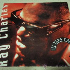 Discos de vinilo: RAY CHARLES – I'LL TAKE CARE OF YOU / CHILD SUPPORT, ALIMONY (ALBUM VERSION) GERMANY,1990. Lote 16499035