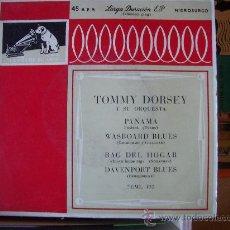Discos de vinilo: TOMMY DORSEY - EP LA VOZ DE SU AMO - ESPAÑA 50'S. Lote 26031153