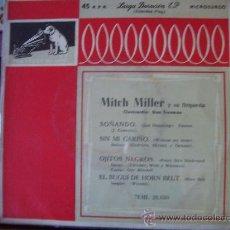 Discos de vinilo: MITCH MILLER - LA VOZ DE SU AMO - EP ESPAÑOL 50'S. Lote 26031154