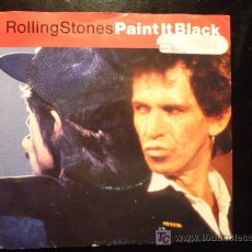 Discos de vinilo: ROLLING STONES - PAINT IT BLACK / PLAY WITH FIRE (LIVE) - 1991 - MADE IN HOLLAND. Lote 19353568