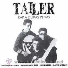 Discos de vinilo: TALLER LP RAP A DURAS PENAS .. NUEVO, TODAVÍA SELLADO, SIN ABRIR. Lote 26191509