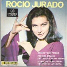 Discos de vinilo: ROCIO JURADO - MORENO Y BIEN PARECIDO ** COLUMBIA 1967. Lote 16548738