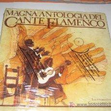 Discos de vinilo: MAGNA ANTOLOGIA DEL CANTE FLAMENCO - 20 VINILOS - PRECINTADOS (MENOS 1 ). Lote 48970447