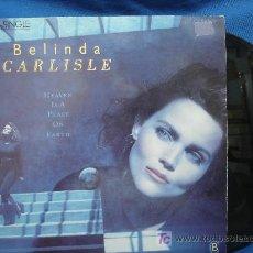 Discos de vinilo: - BELINDA CARLISLE - HEAVEN IS A PLACE ON EARTH - VIRGIN 1987. Lote 23892469
