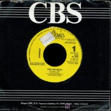 Discos de vinilo: ARANGO - ERES UNA BRUJA - SINGLE 1988 - PROMO. Lote 152177965