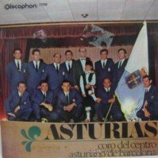 Discos de vinilo: ASTURIAS - CORO DEL CENTRO ASTURIANO DE BARCELONA. Lote 26289089