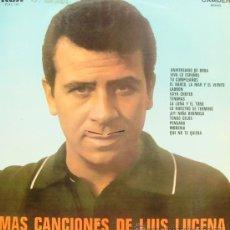 Discos de vinilo: LUIS LUCENA-MAS CANCIONES DE LUIS LUCENA LP VINILO 1968 SPAIN. Lote 16559426