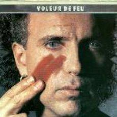 Discos de vinilo: BERNARD LAVILLIERS LP DOBLE LP VOLEUR DE FEU. Lote 26451341