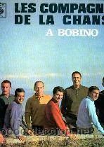 LES COMPAGNONS DE LA CHANSON LP A BOBINO (Música - Discos - LP Vinilo - Canción Francesa e Italiana)