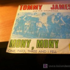 Discos de vinilo: TOMMY JAMES AND THE SHONDELLS ( MONY, MONY ) EP 45 RPM ESPAÑA 1968. Lote 16596578