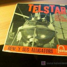 Disques de vinyle: RENE Y SUS ALLIGATORS ( TELSTAR + 3 ) EP ESP 1963 (EPI17 ). Lote 16606939