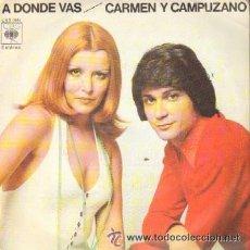 Discos de vinilo: CARMEN Y CAMPUZANO - 1974. Lote 20395598