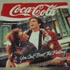 Discos de vinilo: THE COCA-COLA COMPANY (YOU CAN'T GET THE FEELING - TAKE A BREAK -SUMMER HEAT - SEXY MALE) 1988 EP. Lote 16636345