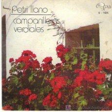 Discos de vinilo: PRETI LLANO - PALABRAS DE AMOR (CAMPANILLEROS) / NO TIENE EDAD (VERDIALES)** GMA 1973. Lote 16643906