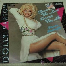 Discos de vinilo: DOLLY PARTON 'TOP HIT USA' ( SAVE THE LAST DANCE FOR ME - ELUSIVE BUTTERFLY ) 1983-GERMANY. Lote 16644532