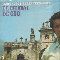 Discos de vinilo: LP CANTABRIA FOLK - EL CHAVAL DE COO , ACOMPAÑADO POR LOS PITEROS DE PUENTE SAN MIGUEL, SANTANDER. Lote 26024639