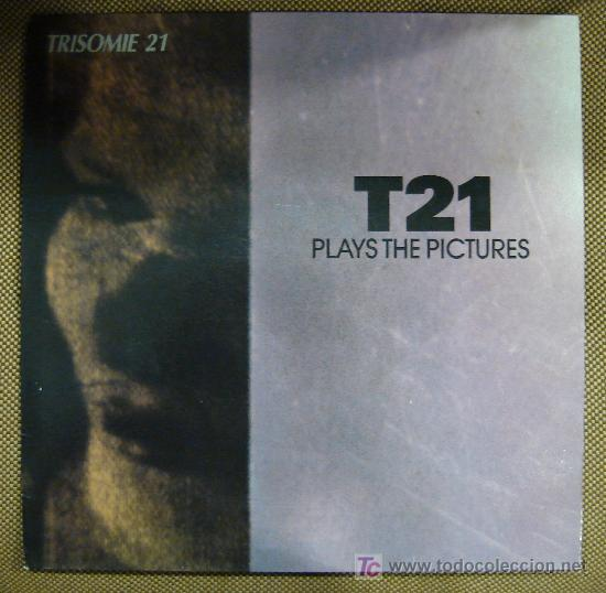 LP DE TRISOMIE 21. PLAYS THE PICTURES. (Música - Discos - LP Vinilo - Pop - Rock - New Wave Extranjero de los 80)