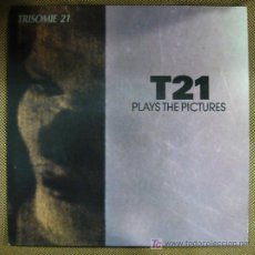 Discos de vinilo: LP DE TRISOMIE 21. PLAYS THE PICTURES.. Lote 36391520