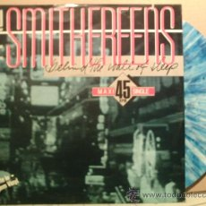 Discos de vinilo: THE SMITHEREENS ---- BEHIND THE WALL OF SLEEP - MAXI-SINGLE. Lote 16673580