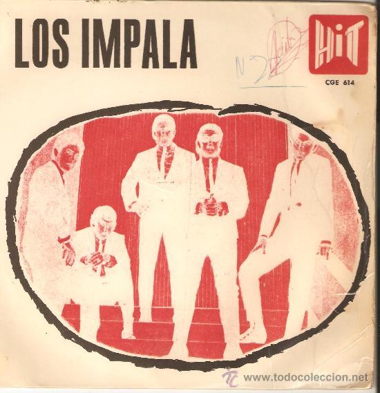 LOS IMPALA.DISCOS VELVET.HIT 1967.VERSIONES BEATLES. (Música - Discos - Singles Vinilo - Grupos Españoles 50 y 60)