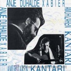 Discos de vinilo: ANJE DUHALDE LP XAVIER AMURIZAREN KANTARI ... NUEVO, TODAVÍA PRECINTADO. Lote 26103720