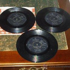 Discos de vinilo: LOTE 3 SINGLES HERMAN'S HERMITS RAROS . Lote 22637700