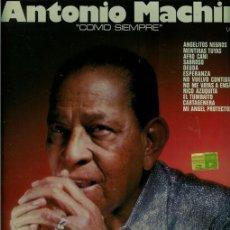 Discos de vinilo: DISCO L. P. DE VINILO DE ANTONIO MACHÍN, COMO SIEMPRE: ANGELITOS NEGROS, MENTIRAS TUYAS, AFRO CAÑÍ,. Lote 25137503