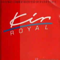 Discos de vinilo: KIR ROYAL - ORIGINAL SOOUNDTRACK AUS DER ARD SERIE - LP 1986. Lote 16699025