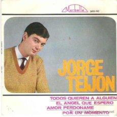 Discos de vinilo: JORGE TEIJON - TODOS QUIEREN A ALGUIEN *** EP MARBELLA 1964 SPANISH YE YE. Lote 19121586